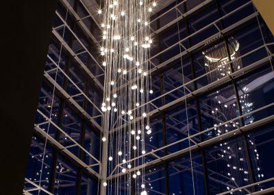 Crowne Plaza Newcastle - Stephenson Quarter Atrium Photograph -webready