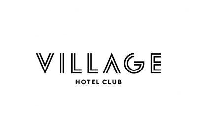 Village_logo_hotel_club_black